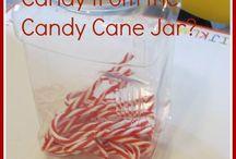 Preschool Theme: Candy Canes & Christmas Trees