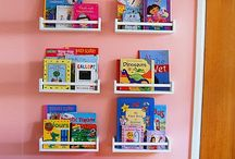small spaces and organizing / by Shawnee Baugh