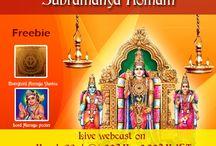 Paghuni Uthiram / Lord Subramanya Homam