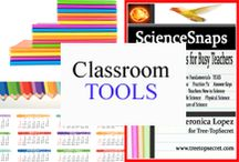 Classroom Tools / Tools to make teaching and learning a little easier. / by Tree Top Secret Education