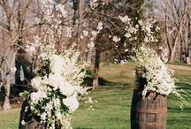 Dekoracje ślubne styl wiejski
