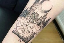TATTOOS  Harry Potter, Hogwarts and Spells and Wizardry