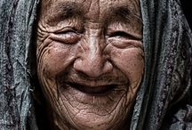 old and happy people