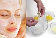 Egg facial with coconut oil