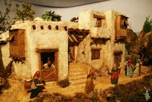 casas de belen en madera