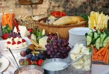 hors d'oeuvres / The ceremony is over and your guests are ready to celebrate. Wow them from the start with a variety of delicious appetizers!
