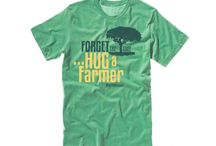 Farmer Friendly / T-Shirts to show your appreciation to the Farmers that grow your food.