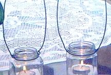 Outdoor Decor ie. Hanging Candles