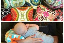 Baby feeding pillows
