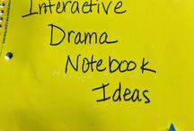 homeschool: theatre unit