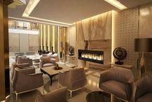 "the interior design of entrance in ""Privilege"" apartments"