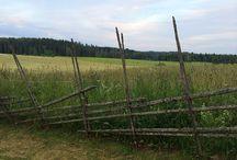 Traditionella staket med mycket känsla / Lantligt, klassiskt, traditionellt - en del staket blir aldrig omoderna utan fortsätter att lyfta sin omgivning.