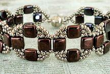 biżuteria koraliki na żyłce