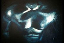 body art schilderijen / Schilderijen van lichamen