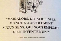 Alice and so one