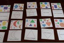 Formák, színek, fejlesztő játékok
