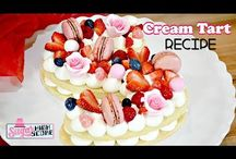 Cream Tart cakes