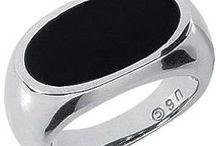 Mens Platinum Rings