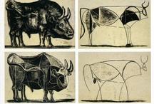 TORO / taureau Picasso entre autre...