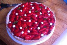 Strawberry tart / French tart strawberry
