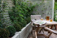 private  garden ideas