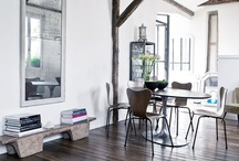 interior design 01 / living rooms · dining rooms · hallways · bathrooms · house tours · neutral + muted tones