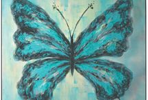 Butterfly Home Decor / Butterfly-themed pillows, rugs, accent tables, wall art and more!