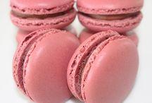 Macaron framboises chocolat