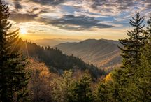 Great Smoky Mountains / Add this location to your bucket list! This national park is home to amazing mountain views, black bears, wildflowers and so much more! Every season is a beautiful season when you are in the Smokies.
