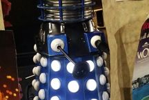 Dr Who Fan made Dalek / Custom Dr Who ride in Dalek, with lights!