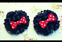 Handmade Hair bow hairclips