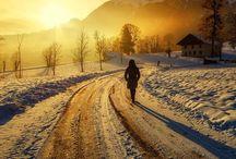 Tablourii de iarna