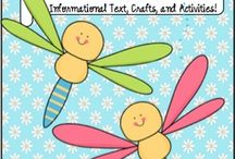 Insects / Informational Text, suggested literature, crafts, mini lessons