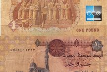 Billets Egypte / La livre égyptienne est la monnaie officielle de l'Égypte. Les billets de banque Egypte en circulation sont : 1, 5, 10, 20, 50, 100 et 200 EGP. En juillet, la Banque Centrale d'Egypte a mis en circulation deux nouveaux billets de 100 et 200 livres avec des signes de sécurité renforcés.