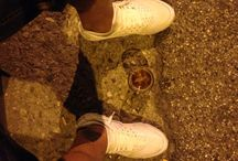 MyPin / Huarache triple white #nikeairmax #myshoes