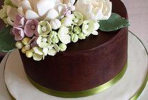 canlı çiçekli pastalar