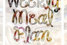 Menu plans / by Tami Recke