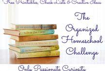 Homeschool Organizing