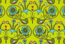 Fabric love / by Robyn Walton
