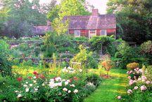 Tasha Tudor's home,garden