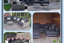 Loungeset Nova design by Arbrini / Loungeset Nova is een eigen ontwerp lounge tuinbank van Arbrini. Deze prachtige design lounge tuin set kan geheel naar eigen wens samengesteld worden uit de verkrijgbare modules. Ook een eigen mix & match van de outdoor lounge rug en sierkussens is mogelijk. Design your own style met loungeset Nova by Arbrini