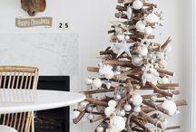 ideer til juletrær