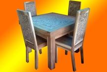 Set Meja Makan / Berisi semua koleksi meja makan dari Jaya Antika