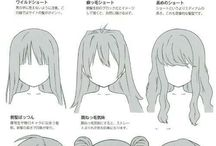 hairstyles(to draw)