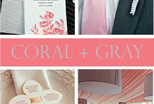 wedding inspiration / Miscellaneous wedding inspiration: colors, flowers, tablescapes