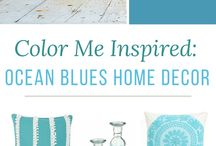 Blue home decor