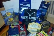 Man-Gifts / A collection of man gift-basket ideas.