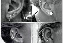 Piercing tatoo