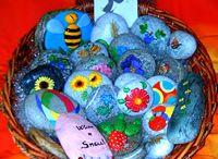 sassi dipinti da me - my handmade painted stones