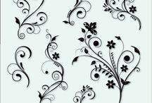 Flourish/ornament / Flourish